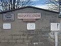 Mort pour la patrie et plaque municipale 1918-2018 au cimetière de Beynost.jpg