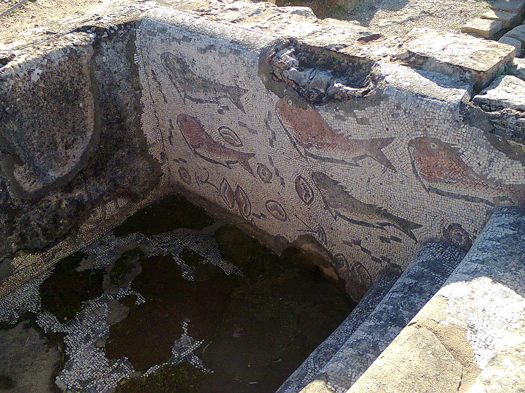 Mosaicos das ruínas romanas de Milreu - Estoi