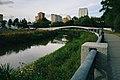 Moscow, the 'Wedding' Bridge on the Yauza in Aqueduct Park (21221959396).jpg