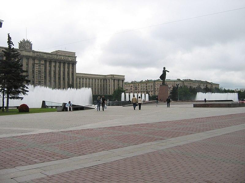 Moscplosh vid na yl tipan - Moskovskaya Square