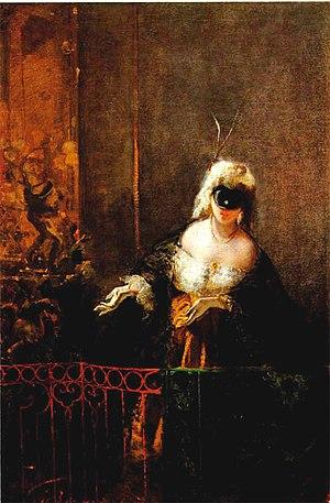 Mosè Bianchi - Image: Mose Bianchi Carnavale a Venezia