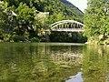 Most čez Idrijco v Dolenji Trebuši. - panoramio.jpg