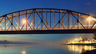Grudziądz - The Bronisław Malinowski Bridge