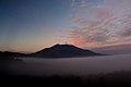 Mount Fuji and Fog over Lake Yamanaka.jpg