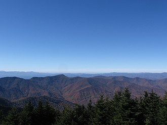 Mount Mitchell - Image: Mount Mitchell; View From the Top