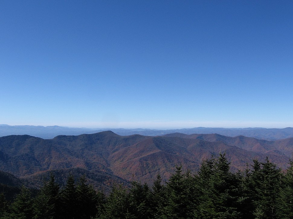 Mount Mitchell; View From the Top