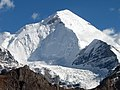 Mount Nun 7135 m, with glacier in front, Jammu and Kashmir region India.jpg
