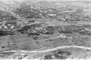 Battle of Haman - Image: Mountain Mass West of Haman