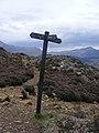 Mountain signpost - geograph.org.uk - 1384119.jpg