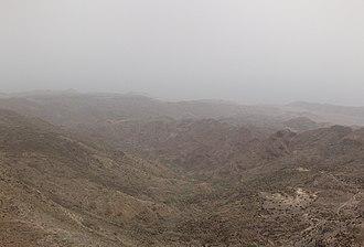 Arta Mountains - Image: Mountainsof Artageography
