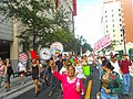 Moveon.org Anti Trump Family Separation Protests - Miami Dade College, Miami Florida 09.jpg