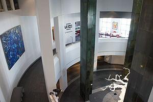 Musée d'art contemporain de Montréal - The interior of the museum in 2011.