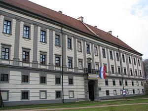 Čakovec Castle - Image: Muzej Međimurja Čakovec