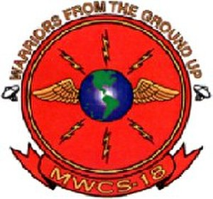 Marine Wing Communications Squadron 18 - MWCS-18 Insignia
