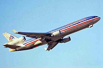 McDonnell Douglas MD-11 - American Airlines received 19 passenger MD-11s