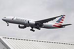 N768AA Boeing 777 American (14706211194).jpg