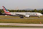 N775AN American Airlines Boeing 777-223(ER) coming in from Dallas (DFW) @ Frankfurt (FRA) 20.04.2018 (26728802387).jpg