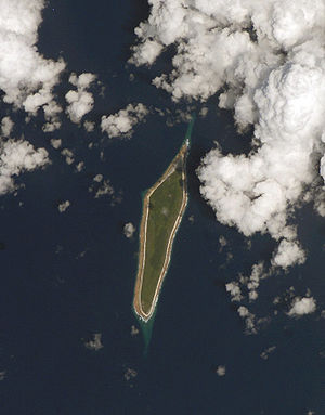 Flint Island - Satellite image of Flint Island