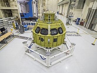 Mars habitat - Structure of Orion spacecraft under construction