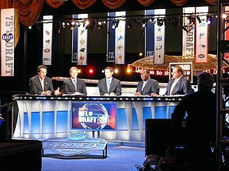 Steve Young - Young serving as a commentator at the 2010 NFL Draft