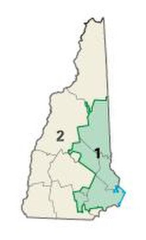 Government of New Hampshire - Congressional districts since 2003