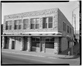 NORTH FRONT AND WEST SIDE - Woodruff Block, 22-24 West First Street, La Junta, Otero County, CO HABS COLO,45-LAJUN,1-3.tif