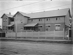 North Sydney Girls High School - North Sydney Girls' High School prior to opening, January 1914