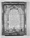 naamlijst van regenten van den schouwburg ca. 1770 - amsterdam - 20014154 - rce