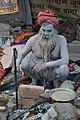 Naga Sadhu - Gangasagar Fair Transit Camp - Kolkata 2013-01-12 2493.JPG