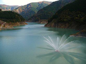 Nagashima Dam - Nagashima Dam Reservoir
