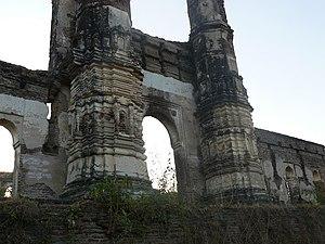 Nagina Masjid, Champaner - Front elevation of  Nagina Masjid, Champaner