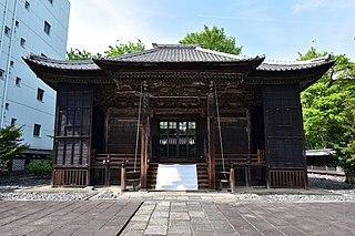 Shinto shrines in Nagoya, Japan