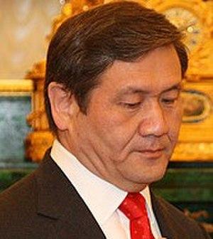 President of Mongolia - Image: Nambaryn Enkhbayar