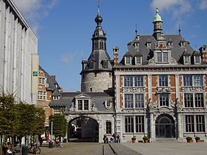 Belfry of Namur - The belfry, behind the old commodity market of Namur