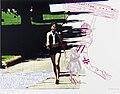 Natascha STELLMACH Ghettoblaster and pen 2013.jpg
