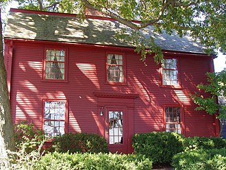 Nathaniel Hawthorne Birthplace - Nathaniel Hawthorne Birthplace, Salem, Massachusetts.
