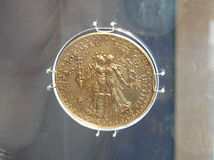 Treaty of Stuhmsdorf - Commemorative medal made in Poland after the Treaty