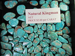 Natural Kingman Turquoise, Maisels, Albuquerque NM.jpg