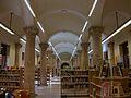 Nau inferior de la Biblioteca Pública de València, antic Hospital.JPG