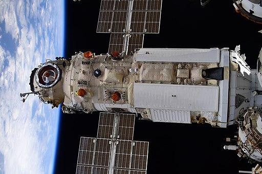 Nauka docked to ISS