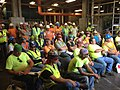 Nearly 100 workers participated in Roy Anderson's Fall Prevention Stand-Down at the Gulfport Memorial Hospital in Mississippi. (14403518121).jpg