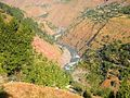 Neelum River seen from Pangran Village Pak Administered Kashmir.jpg