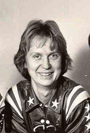 Une photographie de Nera White, joueuse de basket-ball dans le Hall of Fame