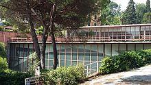 Rimessa per Yacht di Luigi Carlo Daneri e Pier Luigi Nervi a San Michele di Pagana.