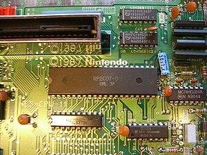 Picture Processing Unit - NES PPU (Ricoh RP2C07) in a PAL NES