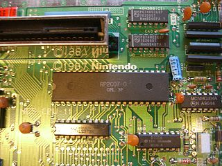 Picture Processing Unit NES microchip responsible for generating video