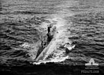 Netherlands submarine photographed from 73 Squadron RAAF Anson NSW Apr 1944 AWM P02175.008.jpg