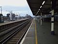 New Cross station southbound mainline platform look north2.JPG