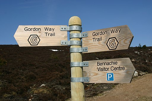 New Gordon Way Marker