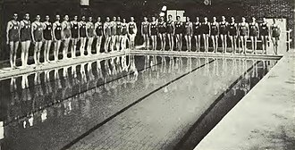 New Trier High School - New Trier became the first high school in America with a swimming pool